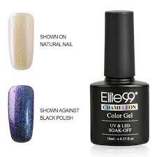 elite99 color changing chameleon soak off uv led gel polish nail