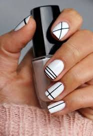 16 chic black and white nail designs you will love lilacs