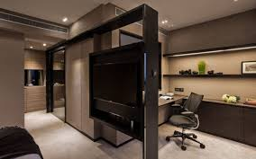 modern office furniture with cabinet as partition design decobizz