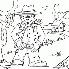 printable coloring pages cowboys coloring home