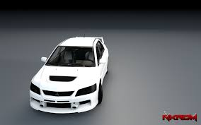 mitsubishi grand lancer mitsubishi lancer evolution ix template gta5 mods com