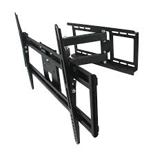 Tv Wall Mount 150 Lbs Megamounts 97093575m Full Motion Wall Mount With Bubble Level For