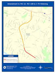 Baltimore Metro Map by Updating Timeline For Md 32 Widening Project From 2030 To 2020