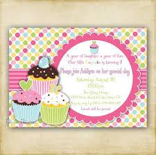 cupcake birthday invitations cupcake birthday invitations for