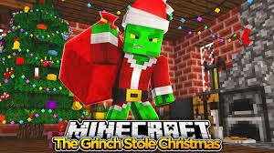 minecraft movie the grinch stole christmas baby duck