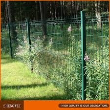 ornamental free standing fencing wire mesh model metal fences