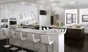 cuisine de luxe design cuisine design blanche cuisine blanche sous le feu des projecteurs