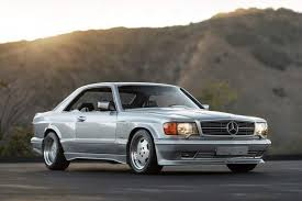 best amg mercedes 1989 mercedes 560 sec 6 0 amg wide is the best you never