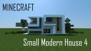 Modern House Minecraft Minecraft Small Modern House 4 Full Interior Download Youtube