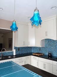 Aqua Pendant Light Kitchen Pendant Lighting Blue Roselawnlutheran