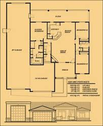Garage Floor Plans With Living Quarters Sunset Homes Of Arizona Home Floor Plans Custom Home Builder Rv