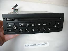 nissan almera cd player peugeot 206 307 radio cd player vdo psarcd100 01 no code