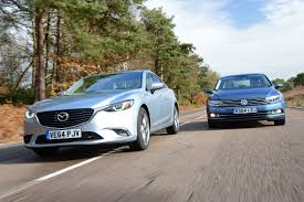 mazda germany mazda 6 vs vw passat auto express
