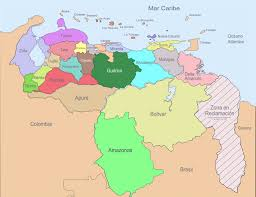 Maps South America by Detailed Map Of Agriculture Industry And Resources Of Venezuela