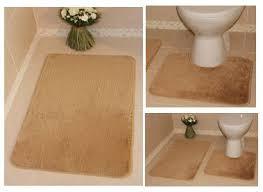 Washable Bath Rugs Bolero Machine Washable Bathroom Rugs Non Slip Plain Pedestal