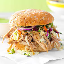 sesame pulled pork sandwiches recipe taste of home