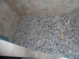 pebble tile shower floor style robinson house decor
