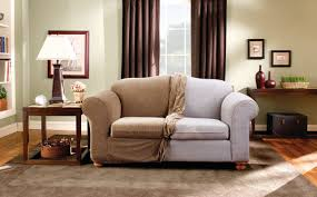 Sure Fit Stretch Stripe Box Cushion Loveseat Slipcover U0026 Reviews