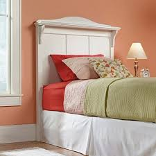 White Twin Headboards by Sauder Pogo Twin Headboard Soft White Walmart Com
