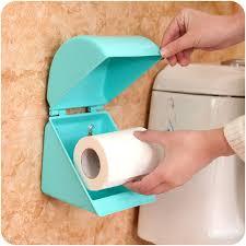 1pc Self Adhesive Durable Bathroom Accessories Plastic Toilet