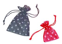 organza drawstring bags polka dot sheer organza wholesale drawstring bags packaging