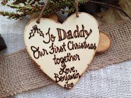 holiday ornament baby u0027s first christmas for daddy