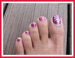 toe nail designs do it yourself simple toenail designs do