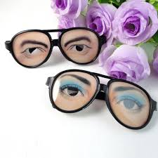 Where To Buy Party Favors Aliexpress Com Buy Fun Eyes Joke Glasses Eyes Disguise Costume