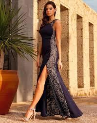 lipsy navy lace panel insert maxi evening dress size uk 6 new