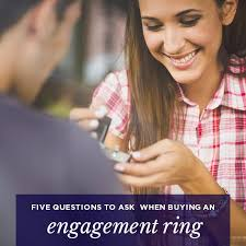buying engagement ring five questions to ask when buying an engagement ring the