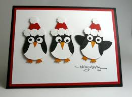 penguin christmas i stamped that