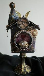 196 best altered mixed media art steampunk images on pinterest