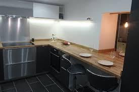 renovation cuisine plan de travail rénovation de cuisine en u avec plans de travail en chêne massif