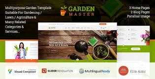 theme wordpress agriculture garden master 1 3 0 wordpress agriculture lawn shop theme