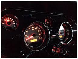 mustang custom gauges dakota digital
