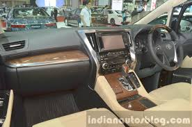 mpv car interior toyota alphard hybrid mpv considered for indian launch