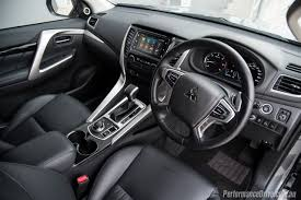 mitsubishi adventure 2017 interior seats 2016 mitsubishi pajero sport review video performancedrive