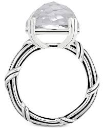 rock silver rings images Peter thomas roth rock crystal ring in sterling silver rings tif