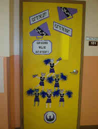 classroom door decorating contest for the florida aptitude test