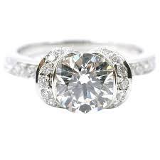 ribbon ring and co 1 21 carat diamond platinum brilliant