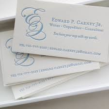 Business Cards San Francisco A Writer U0027s Business Cards The Quill Missive Letterpress