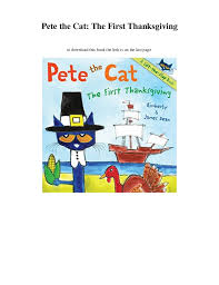 pdf pete the cat the thanksgiving ebook read onl