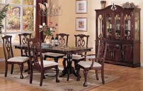 Chippendale Dining Room Set | chippendale dark cherry classic formal dining room w options
