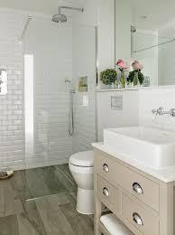 Wall Lining For Bathrooms Wood Like Bathroom Shower Floor Tiles Transitional Bathroom