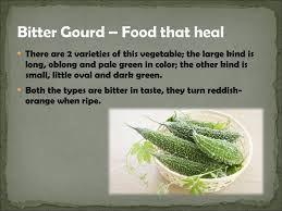 bitter gourd food that heal