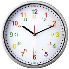 amazon cuisine enfant amazon pendule murale avec horloge murale pour enfant couleur