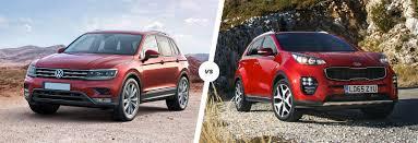 nissan qashqai or kia sportage volkswagen tiguan vs kia sportage comparison carwow