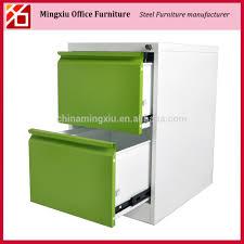 Metal 2 Drawer Filing Cabinet Light Green Metal 2 Drawer Filing Cabinet With Key Lock And Side