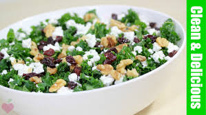 cranberry salads thanksgiving kale and cranberry salad recipe healthy holiday youtube