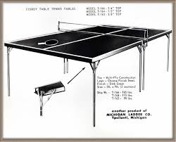 What Are The Dimensions Of A Ping Pong Table by Hidden In Plain Sight Michigan Ladder Company In Ypsilanti Wemu